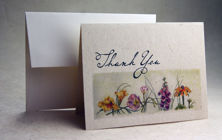 Thank You Cards Handmade Cards A Wide Variety Of Thank