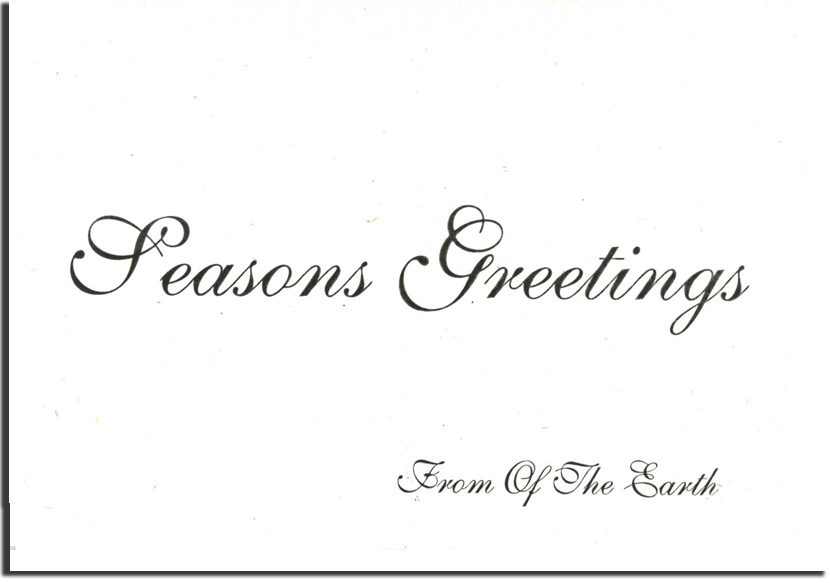Wholesale corporate holiday cards notecard size printed seeded recycled business seasons greetings cards m4hsunfo