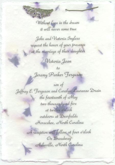 Printed Invitation Overlays Printed at wholesale Available in