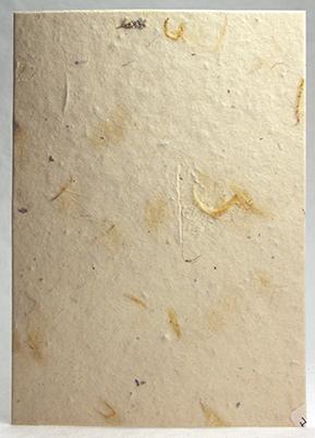 Wholesale Handmade Paper - Custom seeded cotton fiber paper